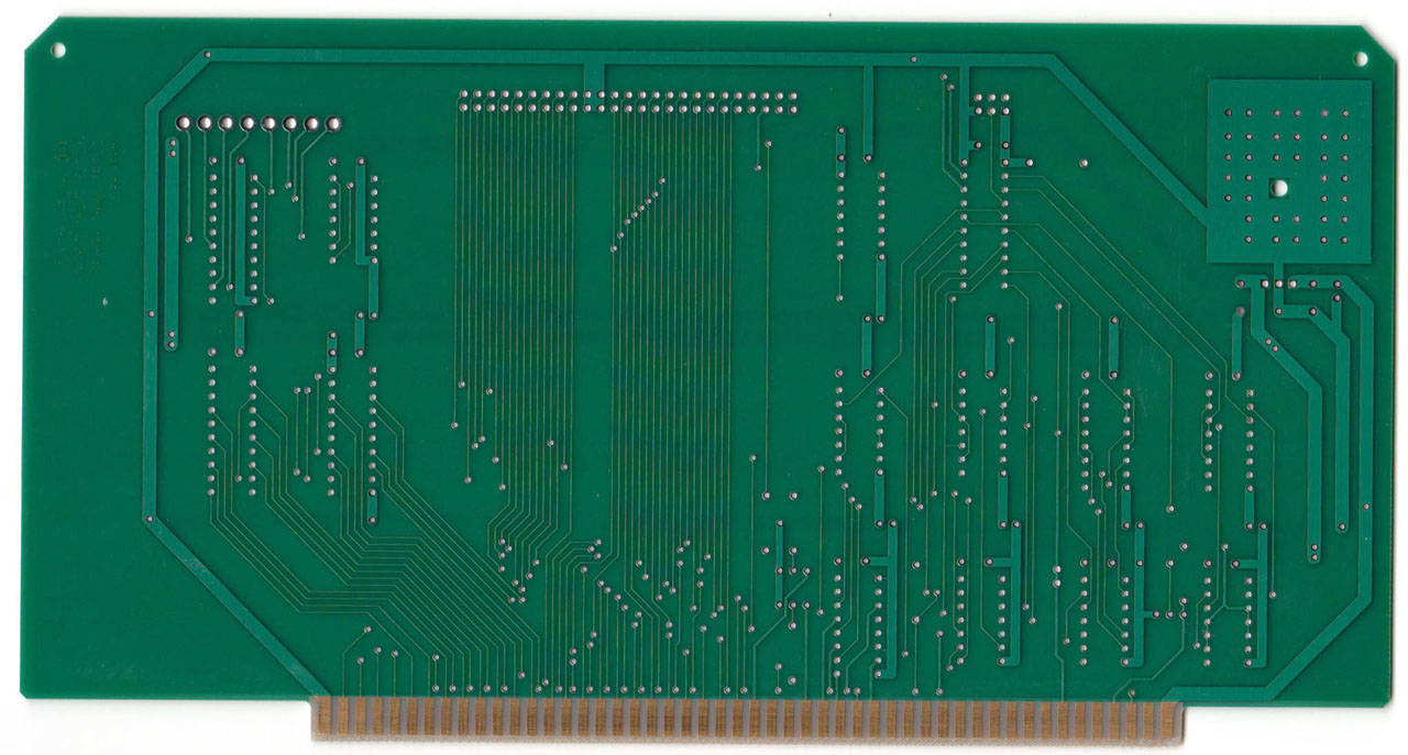 Front panel interface PCB - rear